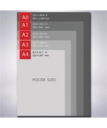 Skull Head Hello Creeps  Matte/Glossy Poster A0 A1 A2 A3 A4 | Wellcoda - $3.00+