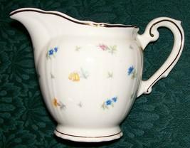 """Syracuse """"Suzanne"""" #G2305 Creamer 6 Oz. Multicolor Floral 1949-70 - $20.00"""