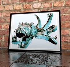 Octopus Digital Painting Print - Underwater Ill... - $11.99 - $49.99
