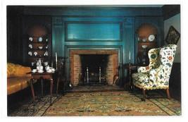 MA Deerfield Historic Ashley House Parlor Vintage Massachusetts Postcard... - $4.99