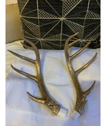 "14"" Set Of 2 Antler Antlers (faux?) Used Decor Decorations  - $94.05"