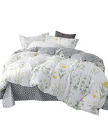OTOB Cartoon Floral Duvet Cover Set 100% Cotton with 2 Pillow Shams for ... - £44.56 GBP