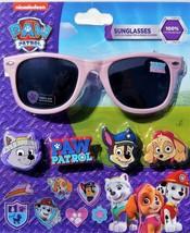 PAW PATROL 100% UV Shatter Resistant Sunglasses w/ Slide-On Character & ... - $8.99