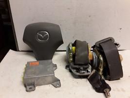 04 05 06 Mazda MPV SRS set wheel module belts gray OEM LE44 57 K30 - $168.29