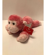 "Jungle Brights Pink Monkey 8"" Plush Stuffed Animal by Aurora A23 - $10.95"