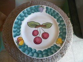 Tabletops Unlimited dinner plate (Italian Fruit-apples) 1 available - $4.75