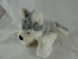 """Ganz  Lil'kinz Retired Husky HS120 Soft small 6"""" X 7"""" Plush toy - $5.93"""