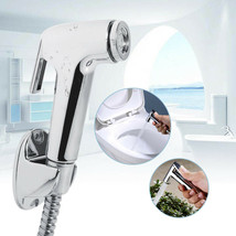 ABS & Stainless Steel Handheld Bidet Spray Set Shower Head Toilet with H... - $18.38