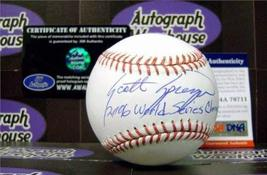 Scott Spiezio autographed Baseball inscribed 2006 World Champs (PSA DNA Authenti - $79.00