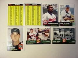 (7) Diff.2002 Topps Heritage Baseball-EX/mt-SP - $7.50