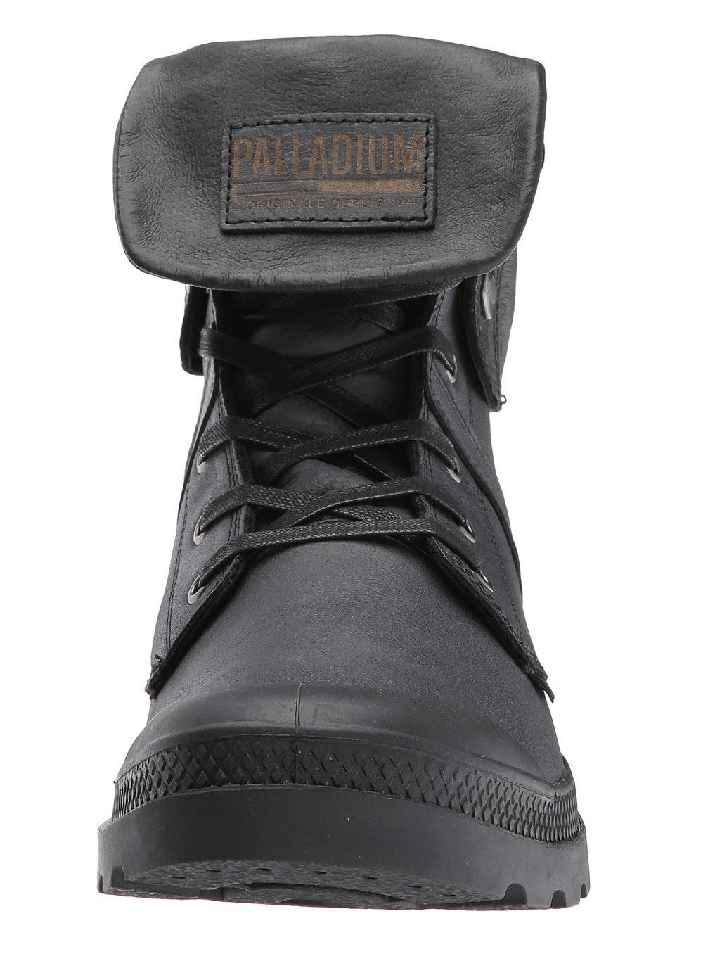 Palladium Pallabrouse Baggy L2 Black Lace Up Ankle Boots [73080-008]