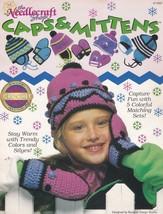 Kids Caps & Mittens,Needlecraft Shop Crochet Pattern 911602 Five Colorfu... - $6.95