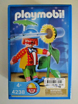 PLAYMOBIL 4238 CLOWN & SQUIRT FLOWER Play Set Toy NEW IN BOX 4 yrs + dat... - $10.88