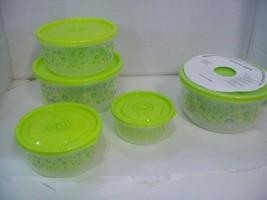 16 Piece Gluman Modern Swirl Plastic Microwave Nesting Container Set  St... - €13,72 EUR