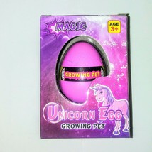 Hatchable Unicorn Egg Toy to Grow a Baby Unicorn Hatches in Water - $5.90