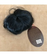 8 - 9 Bebe Monique Black wig Doll making hair parts baby short - $16.50
