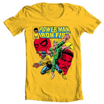 Heroes for Hire Iron Fist Power Man t shirt retro 70s marvel cotton graphic tee image 2