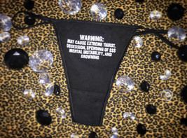 WARNING THONG image 1
