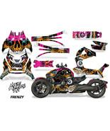 Full Body Wrap Graphic Sticker Decal for Can-Am Ryker 2019 - Frenzy Orange - $287.05
