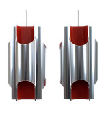 PANTRE pendant pair by Bent Karlby, LYFA, 1970. Extremely rare pair of l... - $1,833.00