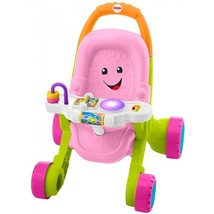 Fisher-Price Stroll and Learn Walker, Pink - $37.05