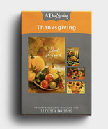 Boxed Cards: Thanksgiving - Gather At The Table, 12-count, Christian Scr... - $13.81