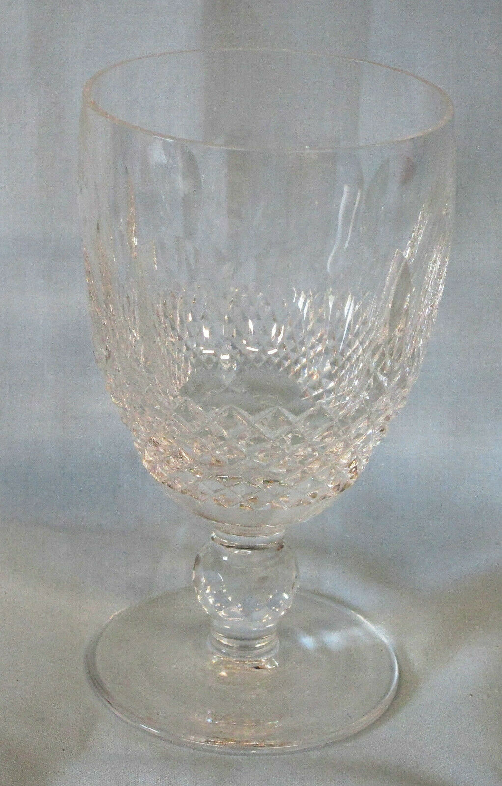 Primary image for Waterford Colleen Short Stem Claret Wine Stem Goblet 4 3/4""