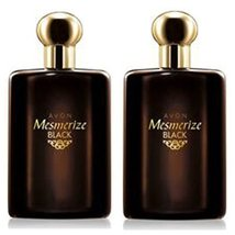 Avon Mesmerize Black for Him Eau de Toilette Spray 3.4 Fl Oz Lot of 2 so... - $34.24