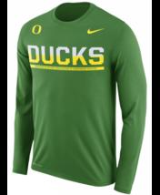 Oregon Ducks Nike Mens Sideline DRI-FIT Long Sleeve T-Shirt - XXL & XL -... - $21.84