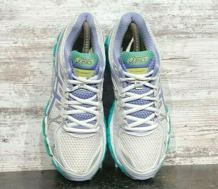 Womens Asics Gel Nimbus 16 Running Shoes SZ 8.5 40 B Used Sneakers Trainers image 4