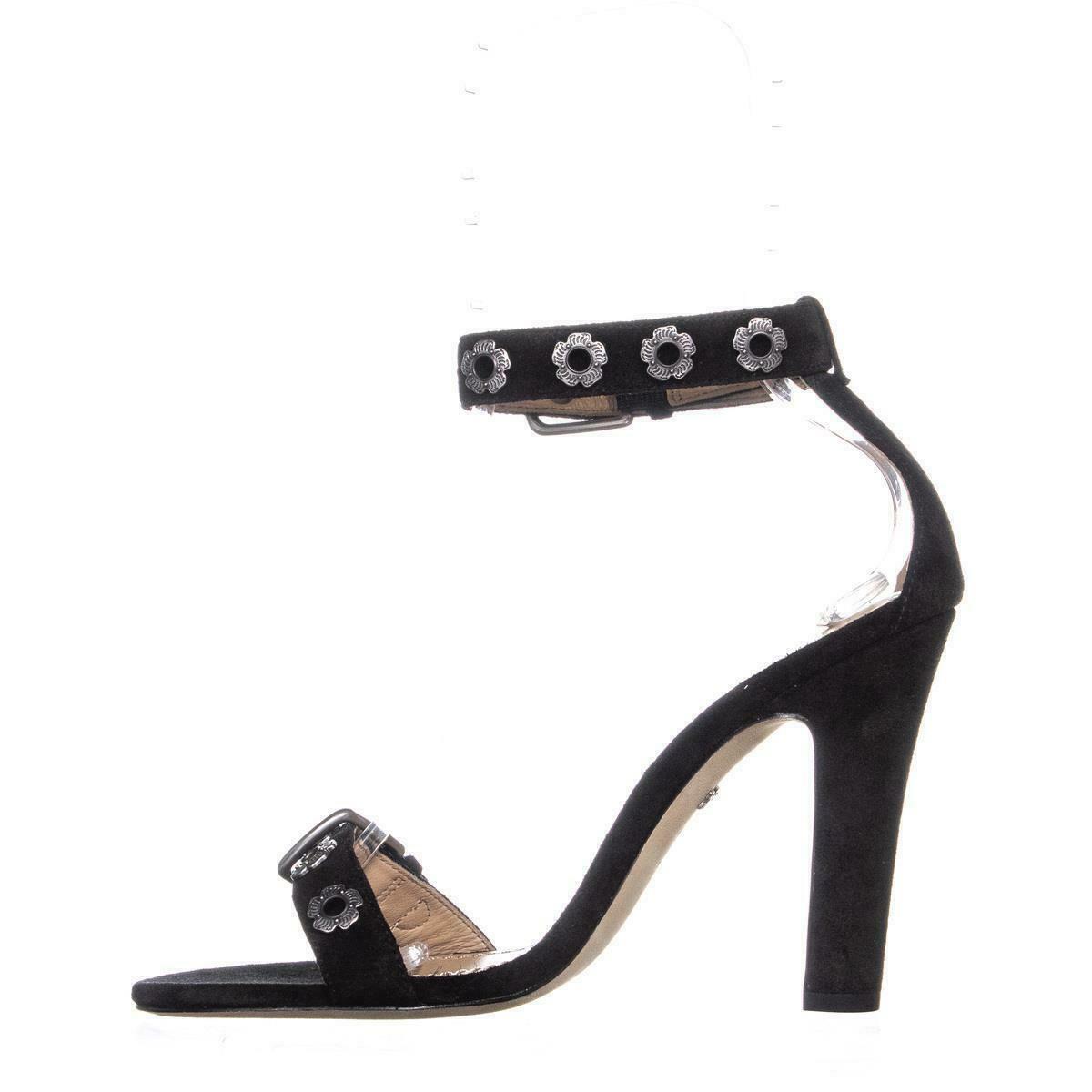 Coach Elizabeth102 Ankle Strap Sandals, Black image 3