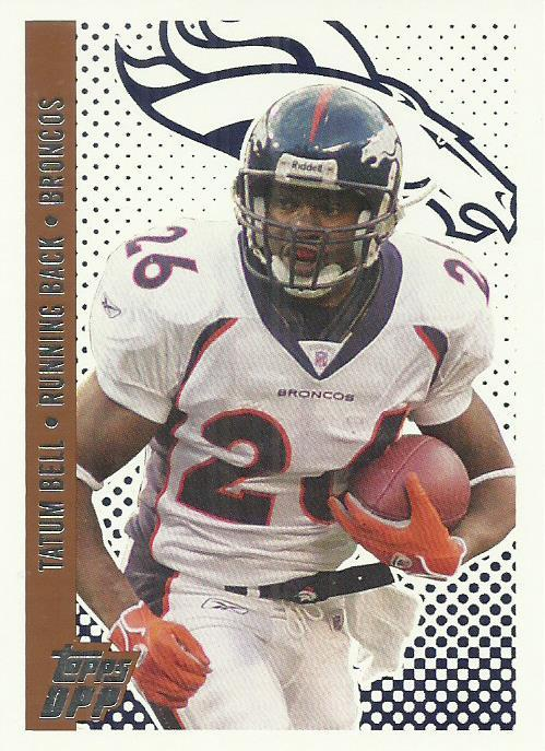 2006 Topps Draft Picks and Prospects #66 Tatum Bell
