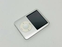 Apple I Pod Nano 3rd Gen A1236 8GB Silver - No Backlight - $21.77