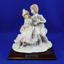 Belcari Figurine - 1984 Dear Arnart - Man & Woman / Couple - Porcelain - $19.50