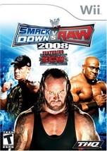 WWE Smackdown Vs Raw 2008 (Nintendo Wii) - $6.18