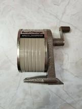 VINTAGE BEROL Chicago APSCO PENCIL SHARPENER1 HOLE MODEL - $17.95