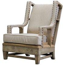 Uttermost 23615 Schafer Linen Armchair - $1,097.80