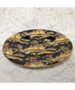 1951, Royal Winton,Pekin, Variant, Gaudy Blue Willow 10in Dinner Plate - $85.45
