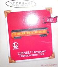Hallmark Lionel - Observation CAR 2003 Ornament QXI8327 - $5.87