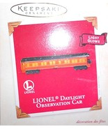 Hallmark Lionel - Observation CAR 2003 Ornament QXI8327 - $5.87