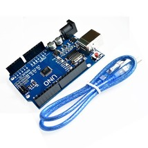 10set/lot UNO R3 UNO board with usb cable for Arduino(Compatible) - $46.12