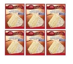 Betty Crocker Super Moist French Vanilla Cake Mix 6 Pack - $30.64
