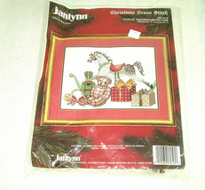 Janlynn Christmas Cross Stitch Kit Toys Of Yesteryear #77-613 Size 12x9 ... - $11.87