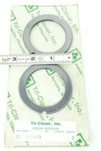 LOT OF 2 NEW TRI-CLOVER KG R60-2-08 CARBON IMPELLERS