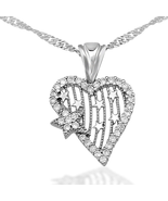 My Heart's Star Silver Necklace - $45.39