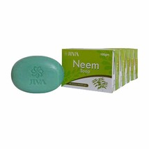JIVA Neem Soap Effective In Pimples, Itching And Dryness (set Of 5) – 10... - $23.40