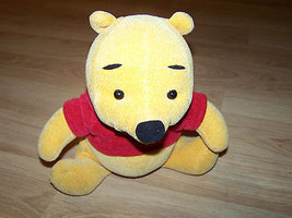 Fisher Price Disney Love To Hug Winnie the Pooh Bear Plush Talks Interac... - $22.00