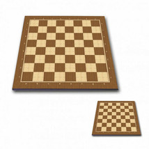 "Professional Tournament Chess Board No. 6P BROWN - 2,25"" / 57 mm field - $73.50"