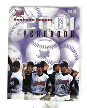 "2001 Official Anaheim Angels Baseball MLB Yearbook 8"" by 11"" Softcover 112 pp. - $12.16"