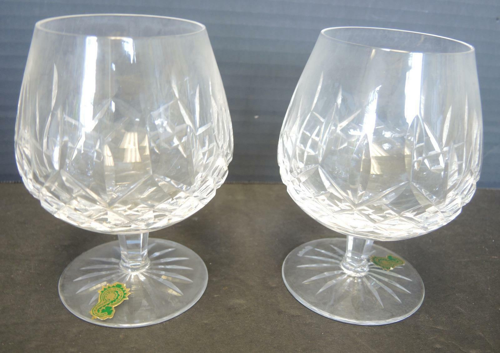 Primary image for Two Waterford Brand Snifters - Lismore Pattern - Never Used